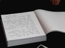 Księga kondolencyjna w Dworze Artusa