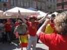 Kibice Hiszpanii i Chorwacji_34
