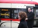 Maciej Płażyński patronem gdańskiego tramwaju