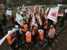 Protest kolejarzy
