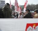 """Protest Sekcji Emerytów i Rencistów NSZZ """"Solidarność"""""""